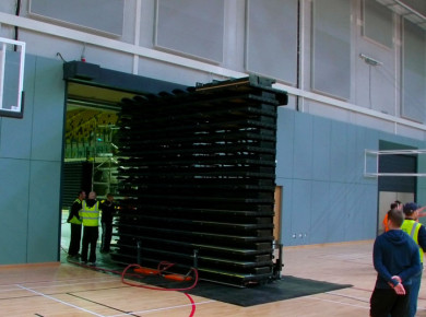 Mobile telescopic unit