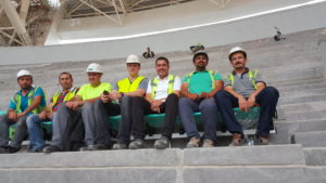 Ashgabat first seats